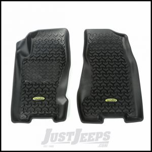 Outland (Black) All Terrain Front Floor Liners For 1999-04 Jeep Grand Cherokee WJ 391292027