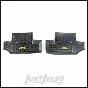 Outland (Black) All Terrain Rear Floor Liners For 2007-18 Jeep Wrangler JK 2 Door & Unlimited 4 Door Models 391295002