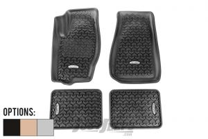 Outland Front & Rear Floor Liner Kit For 2005-10 Jeep Grand Cherokee WK Models 391298723-