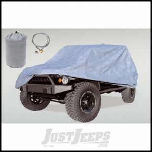 Outland Full Car Cover For 1976-06 Jeep Wrangler YJ & TJ Models & Jeep CJ Series - Except Scrambler or Unlimited 391332172