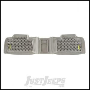 Outland (Grey) All Terrain Rear Floor Liners 1-Pc For 2011-17 Jeep Grand Cherokee WK 391495015