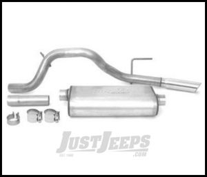 DynoMax Cat Back Exhaust Stainless Steel Welded Kit With Single Exit For 2008-09 Jeep Liberty KK With 3.7Ltr Engine 39475