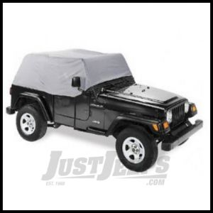 Pavement Ends Cab Cover Grey For 1997-06 Jeep Wrangler TJ 41729-09