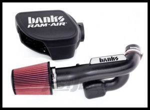 Banks Power Ram-Air Intake System With Oil Filter For 2012-18 Jeep Wrangler JK 2 Door & Unlimited 4 Door Models 41837