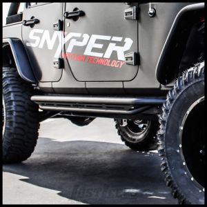 Westin Triple Tube Rock Rails For 2007-18 Jeep Wrangler JK Unlimited 4 Door Models 42-6015