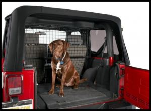 BESTOP Pet Barrier For 2011-18 Jeep Wrangler JK 2 Door Models 42503-01