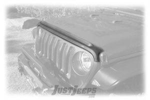 AVS Aeroskin II Hood Protector For For 2018+ Jeep Gladiator JT & Wrangler JL 2 Door & Unlimited 4 Door Models 436148