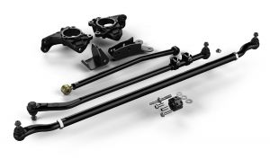 "TeraFlex High Steer System w/ Complete HD Drag Link Flip Kit & Tie Rod For 2007-18 Jeep Wrangler JK 2 Door & Unlimited 4 Door Models With 4""-6"" Lift 4391000"