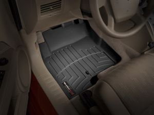 WeatherTech Front FloorLiner In Black For 2007-17 Jeep Patriot & Jeep Compass Models 440861