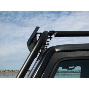 Garvin Wilderness Wind Deflector, Adventure Rack For 2007-13 Jeep Wrangler JK 2 Door & Unlimited 4 Door Models 44088