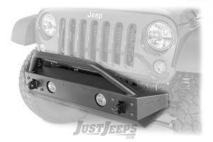 TeraFlex Front Explorer Bumper Kit With Hoop For 2007-18 Jeep Wrangler JK 2 Door & Unlimited 4 Door Models 4653170