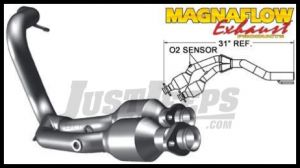Magnaflow Direct Fit Catalytic Converter For 2000-01 Jeep Cherokee XJ With 4.0L 49465