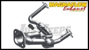 Magnaflow Direct Fit Catalytic Converter For 2005-06 Jeep Grand Cherokee With 4.7L (Y-Pipe Assembly) 49686