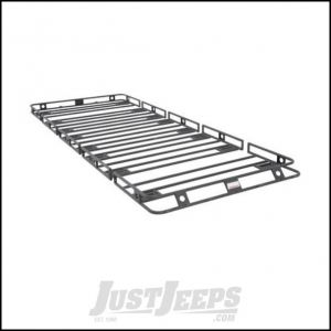 "SmittyBilt Defender Roof Rack 5' x 12' x 4"" With HD Clamps & Brackets 50125HD"