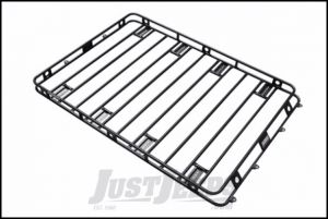 "SmittyBilt Defender Roof Rack 5' x 12' x 4"" With AM Clamps & Brackets 50125AM"