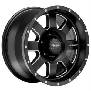 Pro Comp Series 73 Trilogy Series Wheel 17x9 with 5x5 Bolt Pattern - Satin Black PXA5173-7973