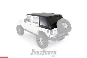 SmittyBilt Slant Two-Piece Hardtop For 2007-18 Jeep Wrangler JK 2 Door Models 517703