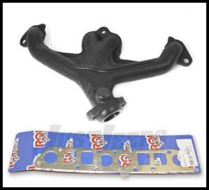 Omix-ADA Exhaust Manifold Kit For 1991-02 Jeep Wrangler YJ & TJ With 2.5L With Gasket 17622.04