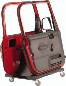 Quadratec Deluxe Storage Cart for Half or Full Steel Doors 12020.500