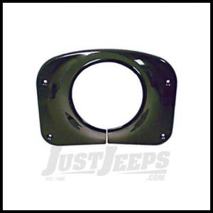 Omix-ADA Black Steering Column Cover For 1976-86 Jeep CJ 13318.08
