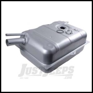 """Omix-ADA Fuel Tank For 1970-75 Jeep CJ Series With 15 Gallon Steel Tank With 2-1/4"""" Inlet 17720.08"""