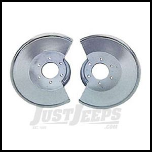 Omix-ADA Brake Dust Shield Stainless Steel For 1978-86 Jeep CJ Series 11121.02