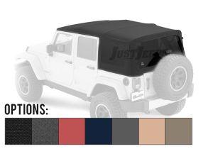 BESTOP Supertop NX Soft Top (OEM Style) For 2007-18 Jeep Wrangler JK Unlimited 4 Door Models 54823-