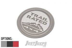 "MOPAR ""Trail Rated 4x4"" Badge Nameplate/Emblem 55157317AB-"