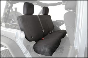 SmittyBilt G.E.A.R. Custom Fit Rear Seat Cover in Black For 1997-02 Jeep Wrangler TJ Models 56647101