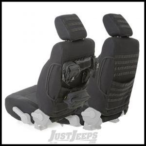 SmittyBilt G.E.A.R. Custom Fit Front Seat Covers in Black For 2007-12 Jeep Wrangler JK & Wrangler JK Unlimited Models 56647801
