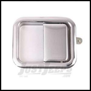 Omix-ADA Full Steel Door Paddle Handle (Chrome) Right Hand For 1981-86 Jeep CJ 1987-06 Wrangler YJ & (TJ Left Hand) 11812.04