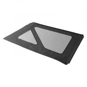 BESTOP Tinted Window Kit For Factory Top & Sailcloth Replace-A-Top For 2007-18 Jeep Wrangler JK 2 Door Models (Black Diamond) 58134-35