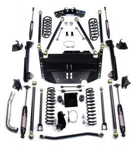 "TeraFlex 5"" Suspension Lift Kit With Shocks PRO LCG For 2004-06 Jeep Wrangler TLJ Unlimited 1249585"