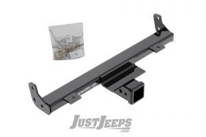 Draw-Tite Front End Receiver Plus Winch Mount For 2007-18 Jeep Wrangler JK 2 Door & Unlimited 4 Door Models 65069
