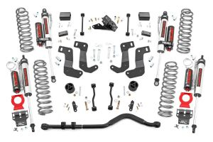 """Rough Country 3.5"""" Suspension Lift Kit   Adj. Control Arms   For 2018 Jeep Wrangler JL Unlimited 4 Door Models 66850"""
