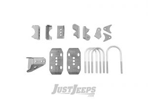 G2 Axle & Gear Core 44 Axle Bracket Kit For 1987-95 Jeep Wrangler YJ Models With Front Core 44 Axle Assembly 67-BRKT-YJF