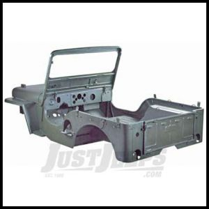 Omix-ADA Body Tub Kit Steel For Willys M38 1948-53 Includes Body Tub, Hood, 2 Fenders, Tailgate and Windshield Frame 12001.05