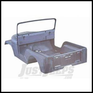 Omix-ADA Body Tub Kit Steel Jeep CJ5 1955-68 Includes Body tub, hood, 2 fenders, windshield frame and tailgate 12001.10