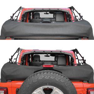 Smittybilt Soft Top Storage Boot In Black Diamond For 2018+ Jeep Wrangler JL, JLU 700235