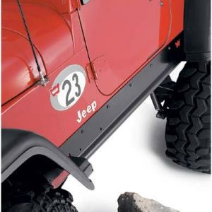 WARN Rock Sliders For For 2003-06 Jeep Wrangler TJ 71500