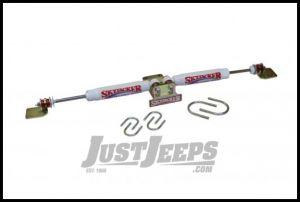 SkyJacker Dual Steering Stabilizer Kit For For 2007-18 Jeep Wrangler JK 2 Door & Unlimited 4 Door Models 7203