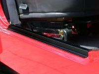 Rampage Entry Guards Black Pair Powder Coat Finish For 1997-06 Jeep Wrangler TJ Models 7686