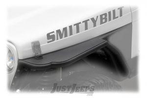 "SmittyBilt XRC Front Tube Fender Set With Built in 3"" Flare For 1997-06 Jeep Wrangler TJ & TLJ Unlimited Models 76873"