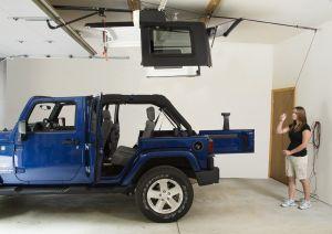 Harken Hoister Garage Hard Top Storage 4-Point Lift System | 45-145 lb Load | Up to 10' Ceilings | For 1987+ Various Jeep Models (See Details) 7803B