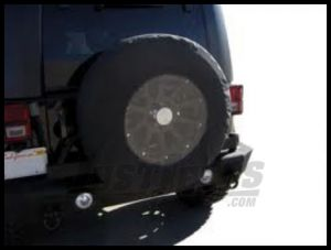 """Rampage Tire Cover With 17"""" Clear Window For """"33-35"""" Black Diamond 783535"""