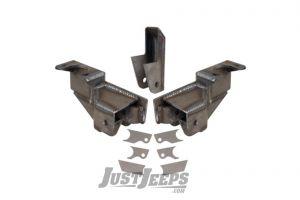 Synergy MFG Rear Stretch Bracket Kit For 2007-18 Jeep Wrangler JK 2 Door Models 8032