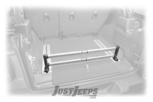 MOPAR Trail Rail Cargo Organizer Bar For 2018+ Jeep Wrangler JL Unlimited 4 Door Models 82215348AC