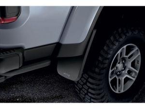 MOPAR Rear Splash Guards With Jeep Logo For 2020+ Jeep Gladiator JT 4 Door Models 82215611