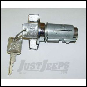 Omix-ADA Ignition Cylinder With Keys Column Mount For 1987-90 Jeep Wrangler YJ & XJ 17250.04