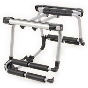 Thule Ski and Snowboard Rack for Hitch or Spare Tire Carrier 9033